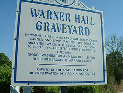 Warner Hall Graveyard
